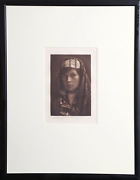Edward Sheriff Curtis Quinault Female Photogravure Information In The Plate