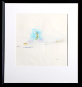 Dimitrie Berea Statue Of Liberty 27 Ink And Pastel On Paper Signed