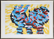 Karel Appel Puppy From Ten From Appel Series Lithograph Signed And Numbered I