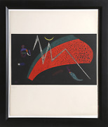 Wassily Kandinsky Watermelon Lithograph On Arches Numbered In Pencil