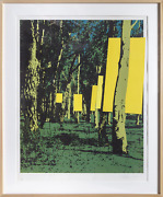 Menashe Kadishman, The Forest, Screenprint, Signed, Numbered, And Dated In Penci