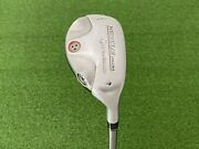 Nice Taylormade Golf Rescue Dual 4 Hybrid 22 Right Handed Graphite 65 Stiff