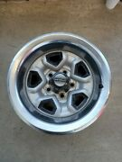 Vintage Chevrolet Rims Set Of 4 15 Inch Rims With 4 Rod Cups And Tire Covers.