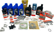 Yamaha F90tlr 100 Hour Kit Oil Change Fuel Filter Gear Lube Water Pump Maintence