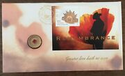 2012 Remembrance Red Poppy C Mm Stamp First Day Cover 2 Limited Pnc No.8002