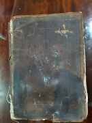 Antique German Holy Bible Book 18-19th Century