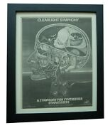 Clearlight Symphony+gong+poster+ad+rare Original 1975+framed+express Global Ship