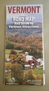Official Road Map And Guide To Vermont Attractions Vacation Crafts Antiques Food