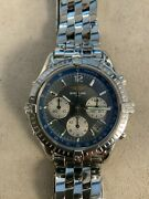 Breitling Cockpit Chronograph Ss Auto 37mm A30012 Selling As-is