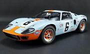 1969 Ford Gt40 Mki 6 24hr Le Mans 112 Diecast Jacky Ickx Acme Le Mib In Stock