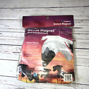 Trumotion Snow Goose Magnet Wind Activated Decoy Flapping Motion New
