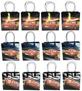 Disney Cars 12pc Party Favor Supplies Goody Bags Loot Bags Gift Candy Bags