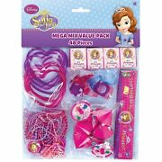 Disney Sofia The First 48-piece Mega Pack Birthday Party Favors Supplies Goodies