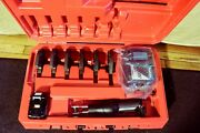 Nibco Model Pc-20m Crimper With 3 Pex Jaws And 3 Copper Jaws Ridgid Propress