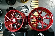 New 20 Inch 5x112 Forzza Oregon Candy Red Wheels For Audi Mercedes-benz Bmw G