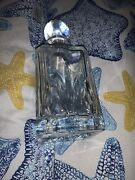 Wine Bottle, Old-fashioned Crystal By Waterford For Whiskey, Scotch 32 Oz