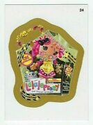 2013 Wacky Packages All-new Series 11 Ans11 Gold Border Card 24 Lalaleprosy