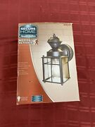 Secure Home Heath Zenith Motion Activated Outdoor Light Matte Black Finish