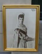 Maria Feodorovna. Empress Of Russia. Rare Large Authentic Vintage Photo