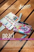 Pearl Wallet Clutch Swoon Sewing Patterns Purse Bag Removable Wristlet Strap