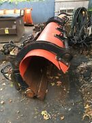 Heavy Duty Frink Snow Plow 11and039 Hydraulic Power Angle Dump Truck Skid Steer