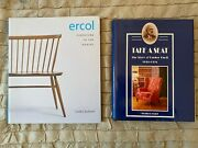 2 Rare Furniture Books Ercol And Parker Knoll 1st Editions