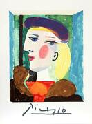 Pablo Picasso Land039profil Marie-therese Walter