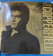David Copperfield The Magic Of Signed Autographed Program