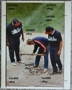 Original 1990 Press Photo Last Game At Old Comiskey Park Home Plate White Sox