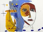 Maria Teresa Viecco Untitled 1 Mixed Media On Paper Signed And Dated