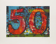 Aaron Fink 50 Lithographie Signandeacutee Numandeacuterotandeacute Et Datandeacute En Crayon