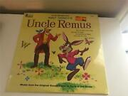 Disney Uncle Remus Song Of The South Soundtrack 1963 Lp Vinyl Record Sealed New