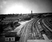 New Civil War Photo Roundhouse Of The Chattanooga Railroad At Atlanta - 6 Sizes