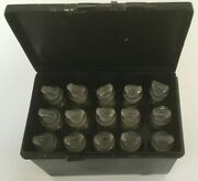 Rare Set Of 15 Vintage Glass Medical/apothecary/pharmacy Bottles Early 20th C