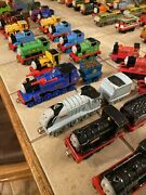 Lot Of 64 Thomas The Train Metal Diecast Trains And Vehicles