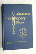 Catholic/protestant New Testament Revised Standard And Confraternity Versions 1964