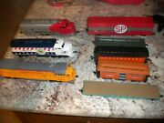 Bachmann Trains - 3 Engines,  Cars  Lot  And Lionel Metal Case  Ho Scale