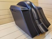 Softail 6down And Out Harley Davidson Drop Back Extended Saddlebags Fender.