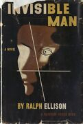Invisible Man-ralph Ellison-1952-1st/1st-w/dj Priced 3.50-nice Collectible Copy