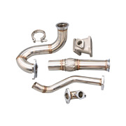 Cxracing Stainless Steel Turbo Manifold Downpipe For 2012-15 Honda Civic Si K24