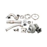 Cxracing Turbo Stainless Steel Manifold Downpipe Kit For 2012-15 Civic Si K24