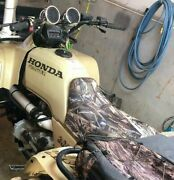 Honda Trx300 Fourtrax Seat Cover In Drt Or 7 Camo Options And 2-tone St