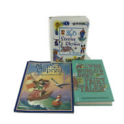 Nursery Rhymes And Fairy Tales Children's Picture Books Set Of 3 Pre-owned -sf/a