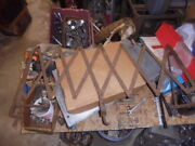 Old Car Parts Running Board Expandable Luggage Rack Fence 20's 30's 40's Vintage