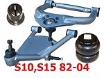 L Larry-bl8294 Chev S10 S15 Blazer Jimmy Upper/lower Control Arms Shown