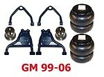 L Gm 1982-2005 Chev 3500 Express Van Upper/lower Control Arms/bags/mount