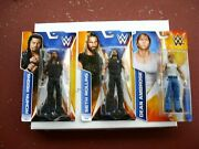 Wwe Roman Reigns 47 Seth Rollins 58 And Dean Ambrose Bundle Unopened 2014