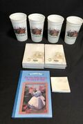 Lot Of Longaberger Items-cups,note Pads And Book