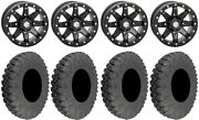 Sti Hd9 15 Beadlock Wheels Mb 33 Race Soft Tires Can-am Defender