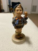 Hummel Figurine Home From The Market 4 1/2 From The 50's